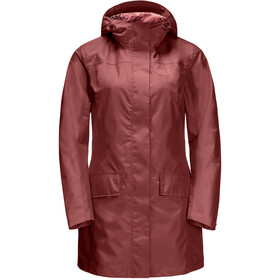 Jack Wolfskin Cape York Coat Women auburn